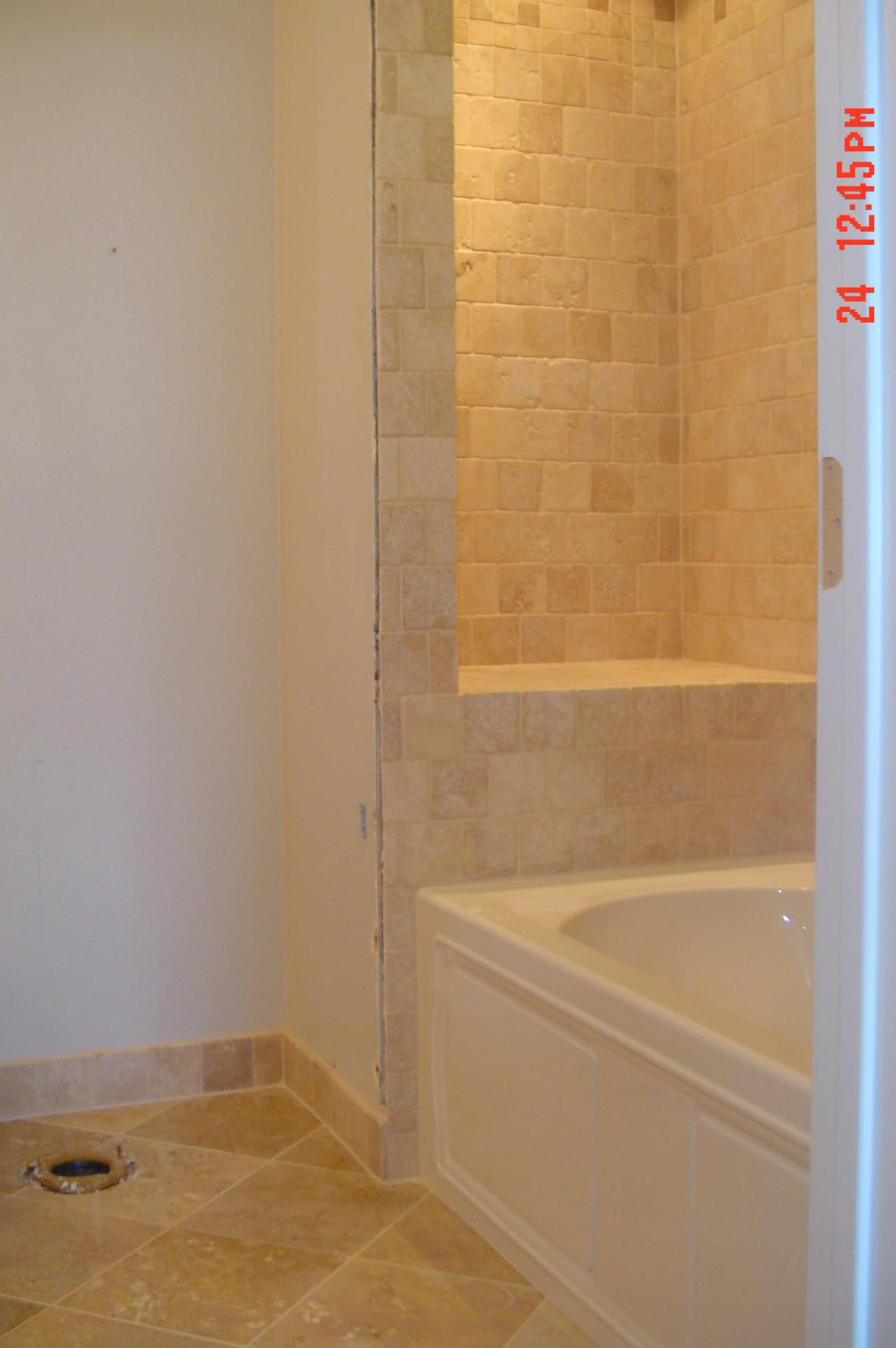 Travertine Bathroom The House Decorating